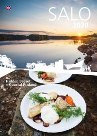 Salon englanninkielisen matkailuesitteen 2020 kansikuva